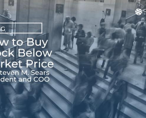 Buy stock below market price